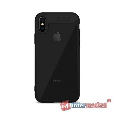 Чехол AUTO Focus для iPhone X, черный