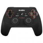 Геймпад Sven GC-2040, беспроводной, 11 кнопок + 2 джойстика + D-Pad, PC/PS3, USB