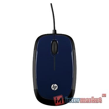 Wired Blue Mouse HP X1200