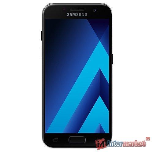 Смартфон Samsung Galaxy A3 (2017) SM-A320F, Black